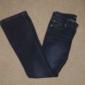 Express Jeans- bootcut Stella Lowrise, size 4R
